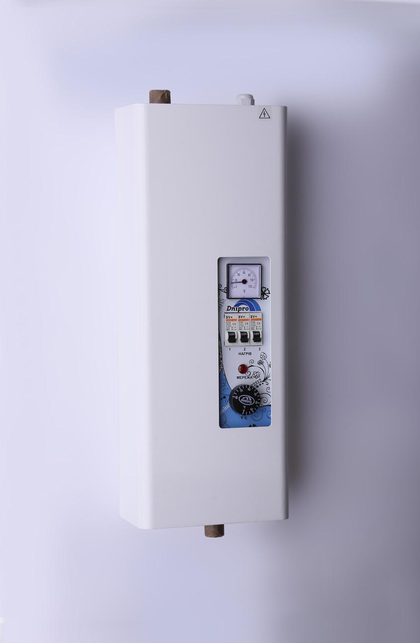 Котел электрический Днипро Мини без насоса КЕО - 9 кВт 220 В