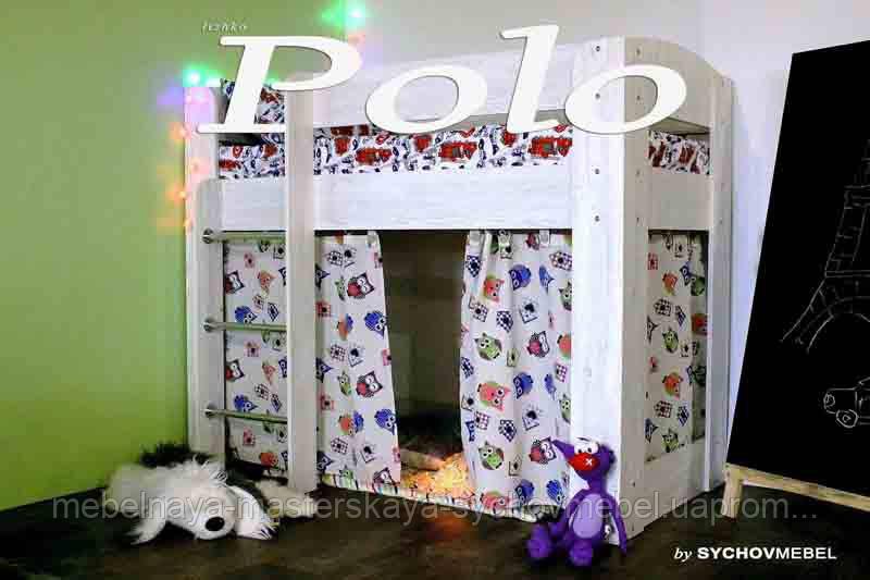 Кровать с игровой зоной Поло
