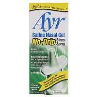 AYR, Saline Nasal Gel, No-Drip Sinus Spray, 0.75 fl oz (22 ml)