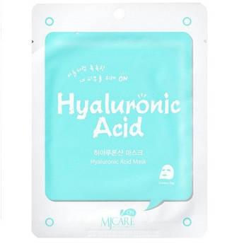 Тканевая маска с гиалуроновой кислотой MJ CARE Hyaluronic Acid Mask
