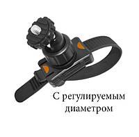 Крепление на руль или трубу для экшн камер (GoPro,Xiaomi,SJCam) с регулируемым диаметром, фото 1