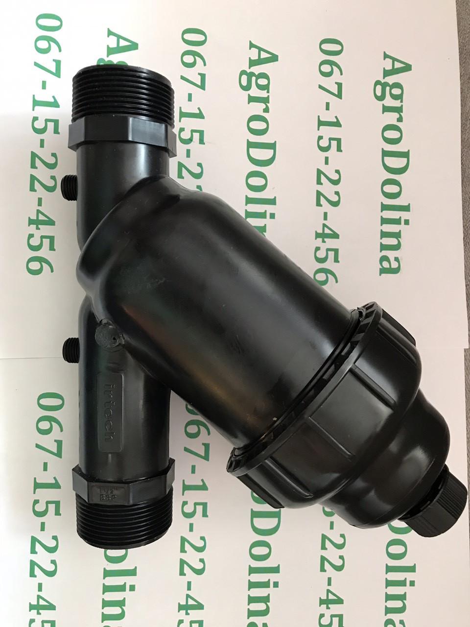 """Фильтр 1 1/2"""", сетчатый, Irtech (150 мкм, до 10 м.куб/ч, до 7 bar)"""