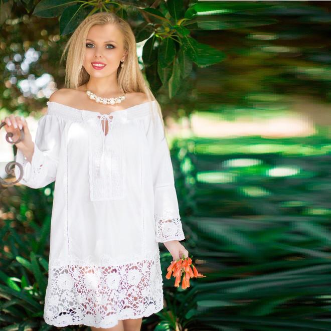 84e98917363 Платье производства Индии из натурального хлопка 361 F - Интернет-магазин  Леди-лайн в