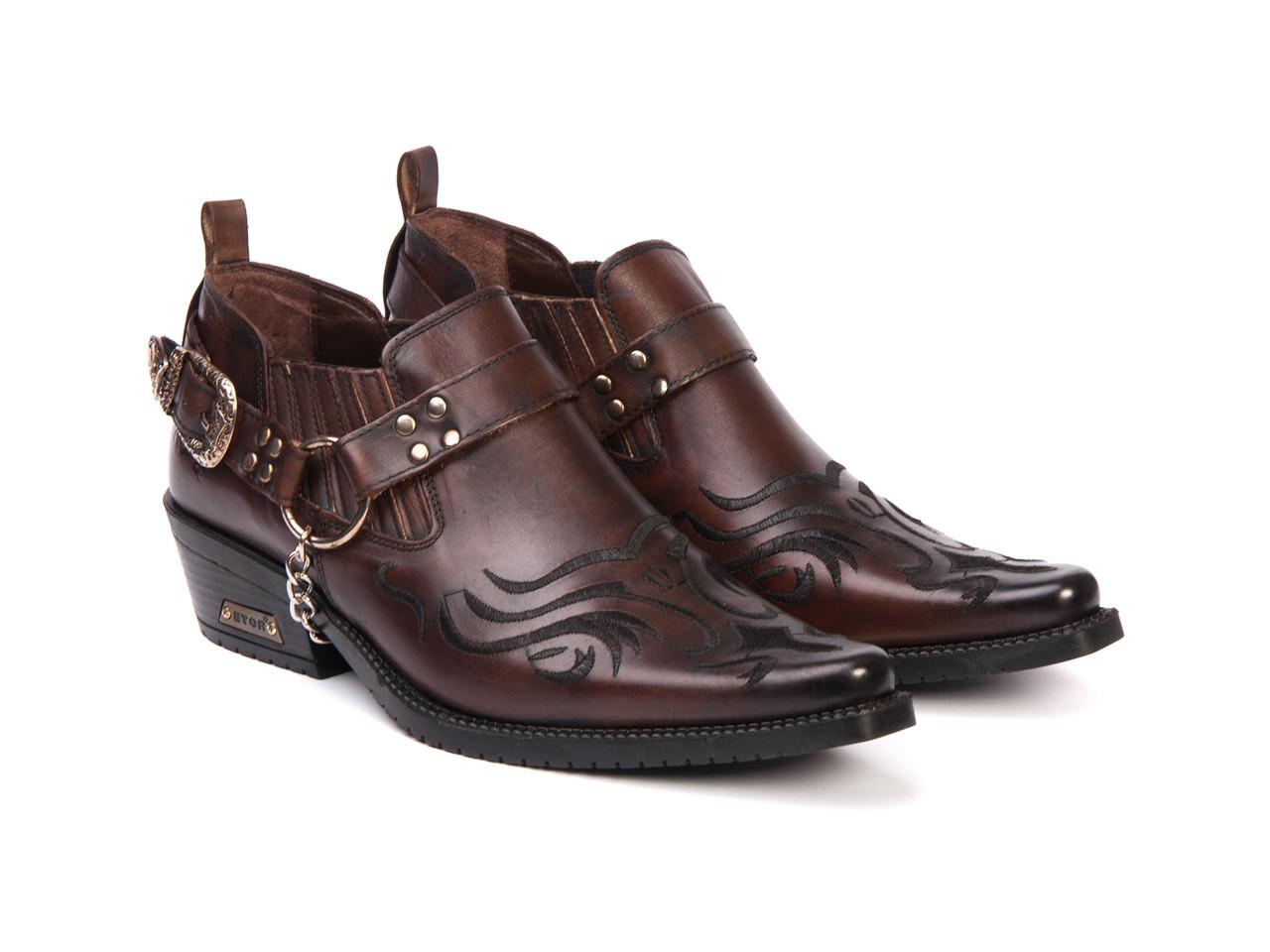Казаки Etor 26-8041-4900-4255 45 коричневые