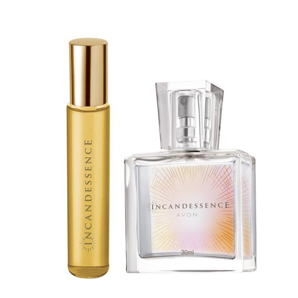 Подарочный парфюмерный набор женский Avon Incandessence