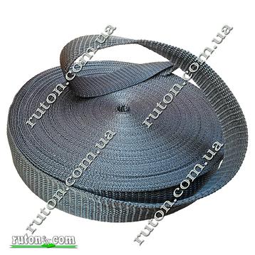 Лента, тесьма для сумок, рюкзаков 40 мм - 50 м стропа ременная полипропиленовая (синтетическая), фото 2