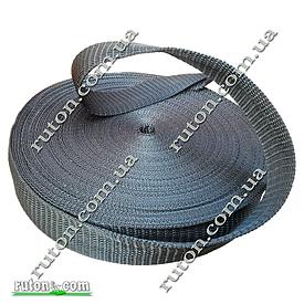 Лента, тесьма для сумок, рюкзаков 20 мм - 50 м стропа ременная полипропиленовая (синтетическая)
