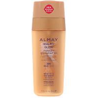 Almay, Healthy Glow Makeup + Gradual Self Tan, 300, Medium, SPF 20, 1 fl oz (30 ml)