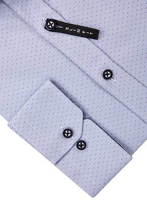 Серая рубашка KS 1753-1 разм. XXL, фото 2