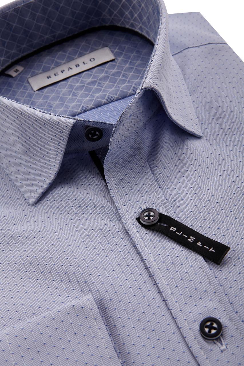 Серая рубашка KS 1753-1 разм. XXL