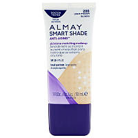 Almay, Smart Shade, Anti-Aging Skintone Matching Makeup, SPF 20, 200 Light/Medium, 1 fl oz (30 ml)