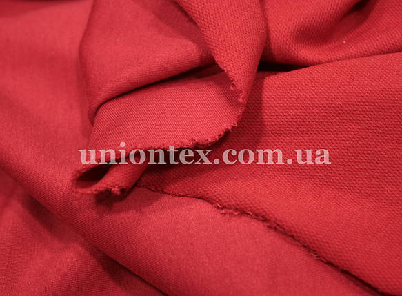 Футер двунитка (180см) красный, фото 2