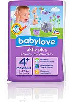 Babylove Подгузники aktiv plus 4 maxi+ (9-20 кг) 38 шт.
