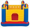 Надувной игровой центр-батут Замок с окном