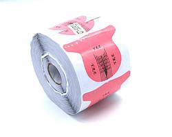 Форма для наращивания ногтей стилет розовая YRE (500 шт)