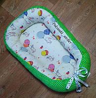 Детский кокон-позиционер для новорожденного, фото 1