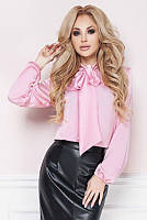 Женская шелковая блузка эмилия л095