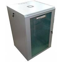Шкаф коммутационный настенный 18U 600x450 разборной