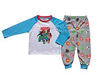 Пижама флис  Марвел для мальчика Primark