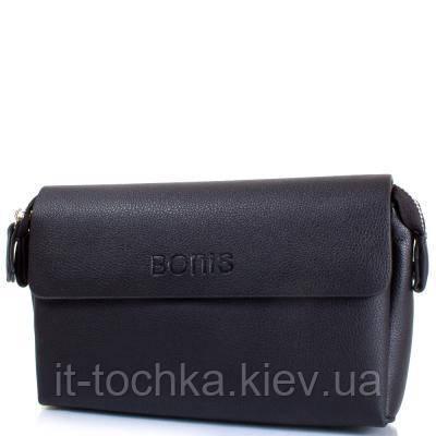 Мужская борсетка bonis shi5679-111 черный кожзам