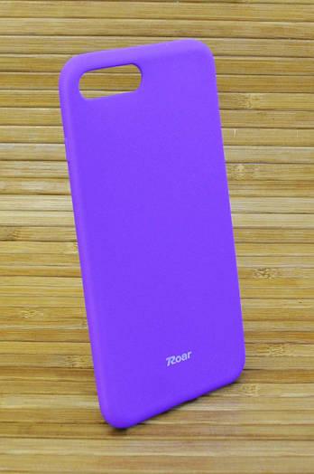 Силиконовый чехол на Айфон, iPhone 7+ \ 7Plus ALL DAY фиолетовый