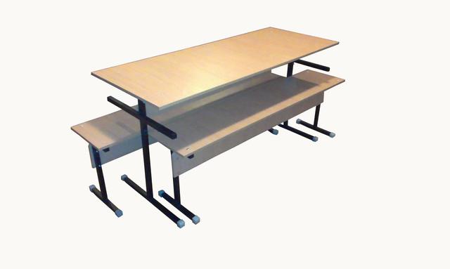 Столы и лавки для школьной столовой