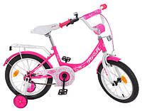 """Велосипед детский Profi Y1413 Princess 14""""."""