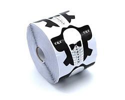 Форма для наращивания ногтей стилет смокинг YRE (500 шт)