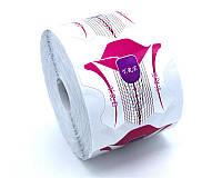 Форма для наращивания ногтей стилет сиреневая YRE (500 шт)