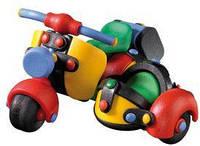 Пластиковый конструктор MIC-O-MIC Скутер с коляской (089.017)