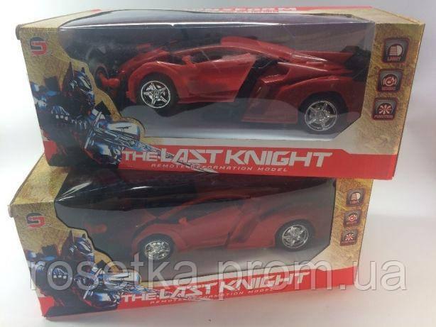 Радиоуправляемая машинка-трансформер The Last Knight с пультом, детский автомобиль Робот-трансформер