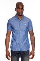 Рубашка с коротким рукавом мужская MZGZ MZGZ COPPA STONE WASHED (INDIGO)