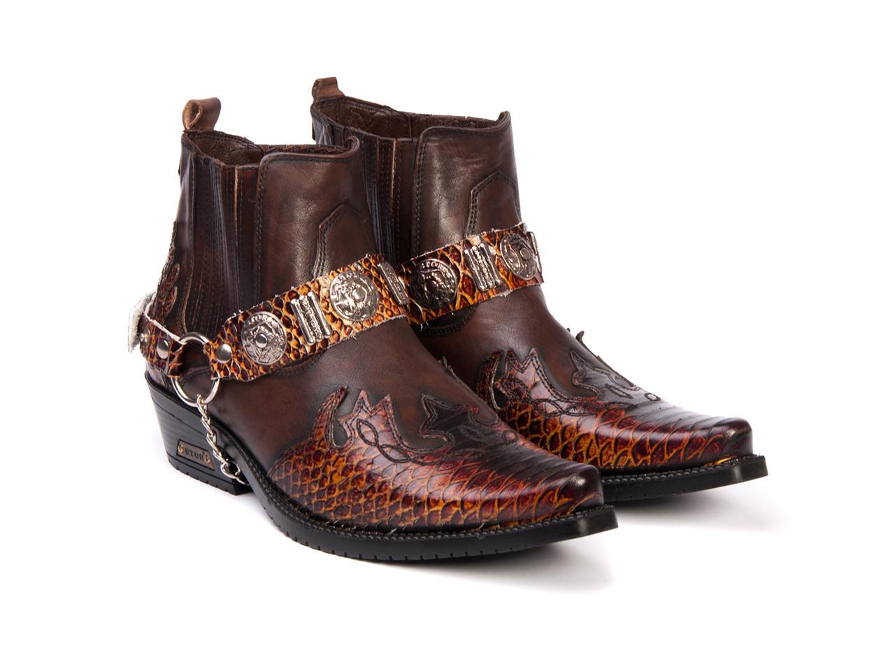 Казаки Etor 2827-8041-2241 43 коричневые