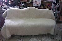 Гуцульский лижнык из натуральной шерсти овчины, белый