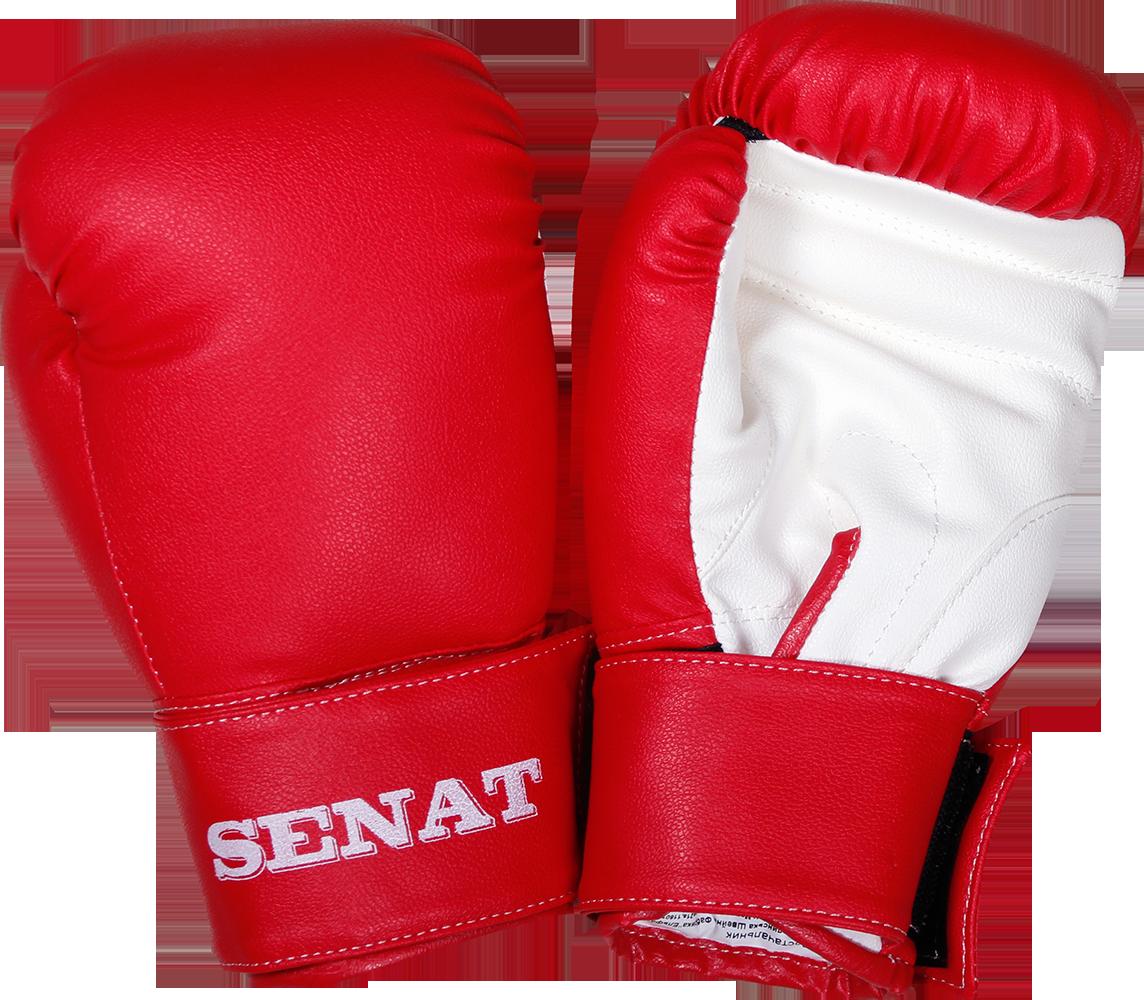 Рукавички боксерські 8 унцій, червоно-білі, 1550-red/wht