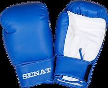 Рукавички боксерські 6 унцій, синьо-білі, 1543-bl/wht