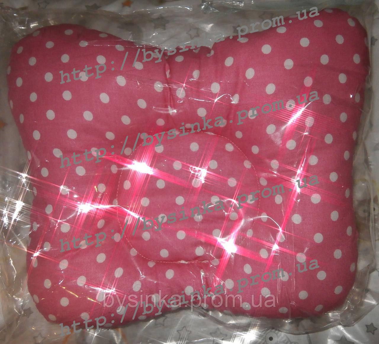 Детская подушка ортопедическая бабочка - от кривошеи