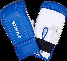 Перчатки снарядные, сине-белые, 1468-bl/wht