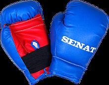 Перчатки боксерские 4 унций, сине-красные, 1536-bl/red