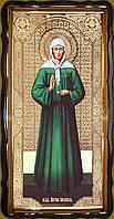 Икона святой Матроны ростовая 35х30см