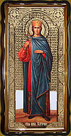 Икона святой Екатерины 35х30см