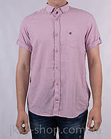 Рубашка кор. рукав мужская Zen-Zen ZEN-ZEN M411GM29041 PEMBE