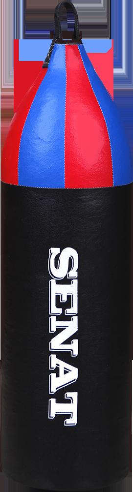 Мешок боксерский шлемовидный 70х21, кожзам, чорный, 1222-blk
