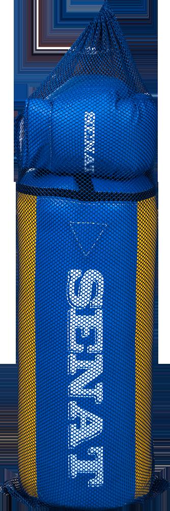 Набор юного боксера, сине-желтый, 1482-bl/yllw