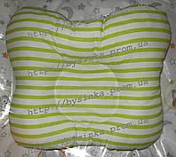 Подушка ортопедическая для младенцев бабочка - от кривошеи