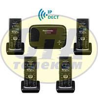 Panasonic KX-TGP600RUB + KX-TPA60RUB - 3шт, комплект SIP-DECT телефонов