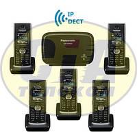 Panasonic KX-TGP600RUB + KX-TPA60RUB - 4шт, комплект SIP-DECT телефонов