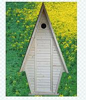 Деревянный туалет, фото 1
