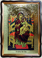 Икона Божьей Матери «Всецарица» 35х30см