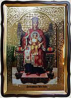 Икона Божией Матери Державная 35х30см